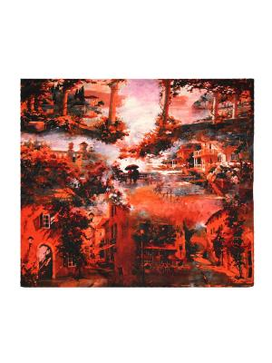 Платок Magrom. Цвет: рыжий