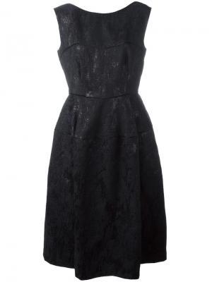 Платье Locomotion Talbot Runhof. Цвет: чёрный
