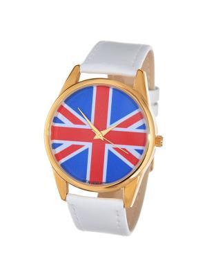 Часы Mitya Veselkov Британский флаг Арт. Shine-3. Цвет: красный, черный