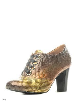 Ботильоны La Gatta. Цвет: бронзовый, желтый, золотистый