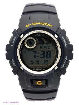 Часы G-SHOCK G-2900F-2V CASIO. Цвет: темно-синий