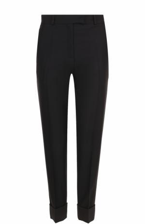 Укороченные брюки с отворотами и стрелками Racil. Цвет: черный