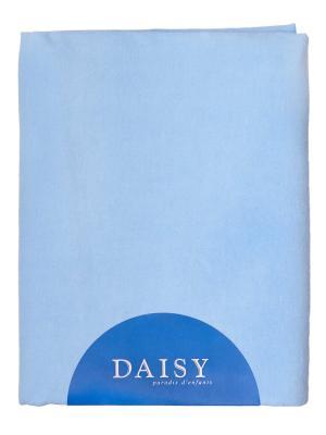 Пелёнка фланель с начёсом 90х120 DAISY. Цвет: голубой