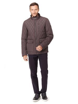 Куртка Baon. Цвет: коричневый, серый