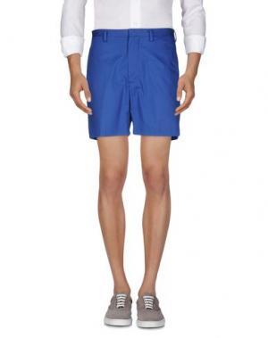 Повседневные шорты MARC BY JACOBS. Цвет: синий