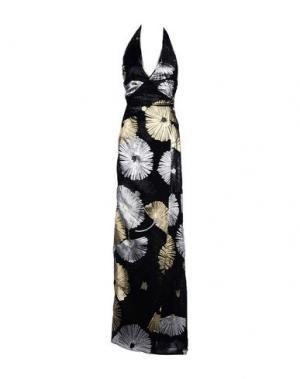Длинное платье DSQUARED2. Цвет: черный