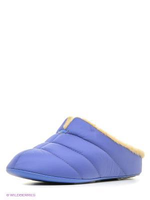 Тапочки Pansy. Цвет: фиолетовый
