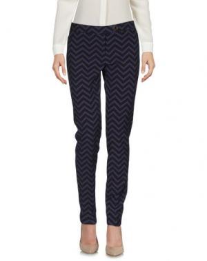 Повседневные брюки SAISON. Цвет: фиолетовый