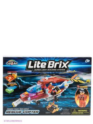 Конструктор Lite Вrix. Цвет: красный, синий