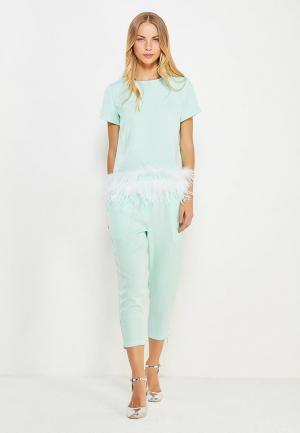 Комплект блуза и брюки Mazal. Цвет: мятный