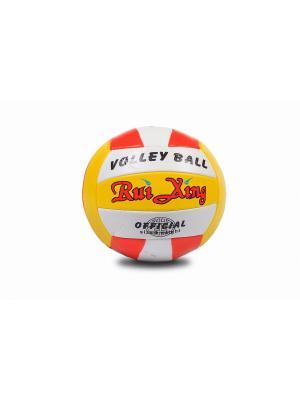 Мяч волейбольный S-S. Цвет: оранжевый, желтый