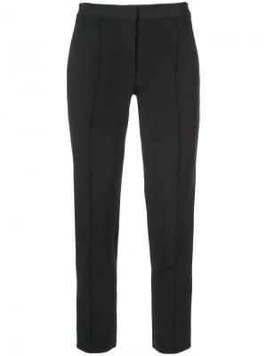 Зауженные брюки Adam Lippes. Цвет: чёрный