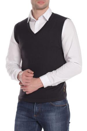 Жилет Armani Jeans. Цвет: черный
