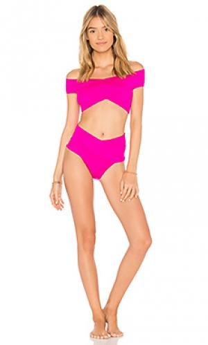 Комплект бикини lucette OYE Swimwear. Цвет: розовый