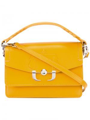 Сумка на плечо Twi Paula Cademartori. Цвет: жёлтый и оранжевый