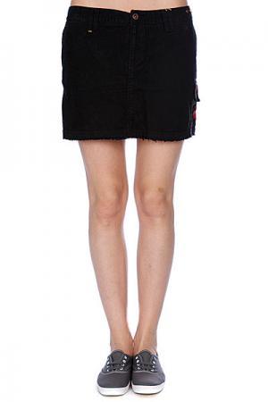 Юбка женская  Major Mini Black Zoo York. Цвет: черный