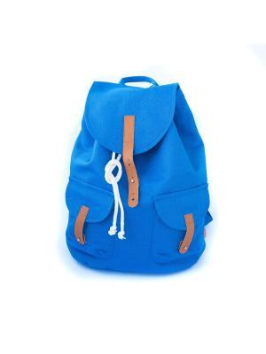 Городской рюкзак TIMBAG. Цвет: синий