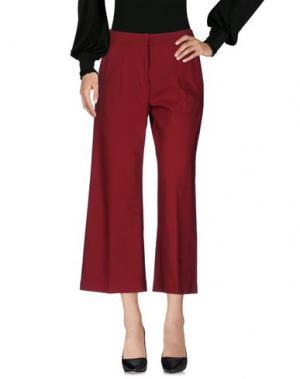 Повседневные брюки JUST FOR YOU. Цвет: кирпично-красный