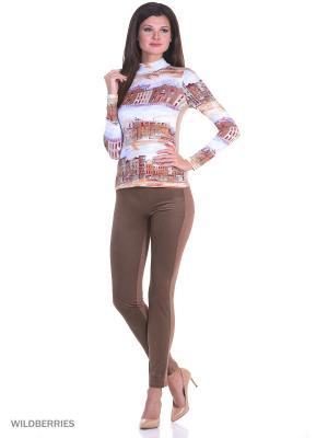 Водолазка RIJJINI. Цвет: коричневый, бежевый, кремовый, молочный, светло-бежевый, светло-коричневый, темно-бежевый