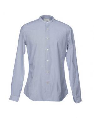 Pубашка GUGLIELMINOTTI. Цвет: темно-синий