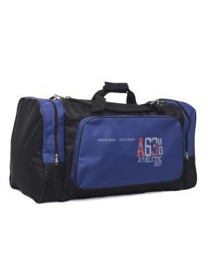 Сумка дорожная 165002 GOOD BAG. Цвет: синий