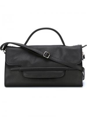 Маленькая сумка-тоут Nina Zanellato. Цвет: чёрный