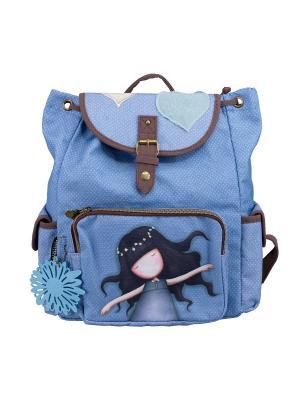 Рюкзак. Gorjuss. Цвет: голубой, коричневый