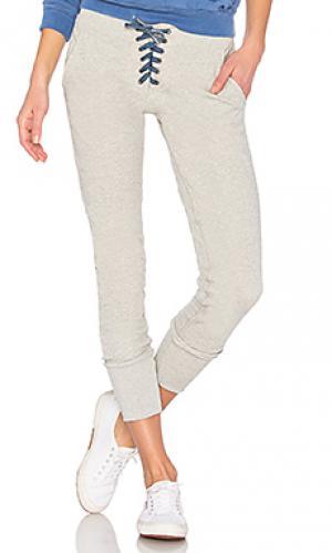 Свободные брюки maddox NSF. Цвет: светло-серый