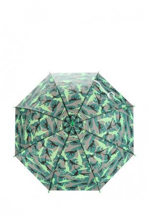 Зонт-трость Modis. Цвет: зеленый
