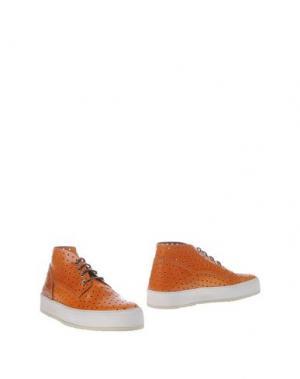 Полусапоги и высокие ботинки BARLEYCORN. Цвет: желто-коричневый