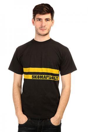 Футболка  Street Black Sk8mafia. Цвет: черный