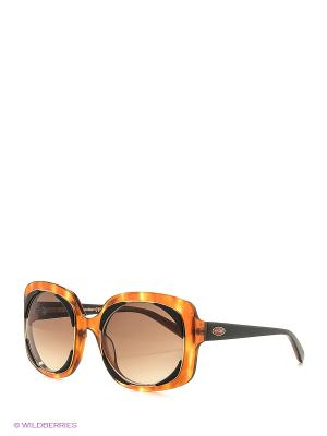 Солнцезащитные очки MI 806S 02 Missoni. Цвет: коричневый, черный