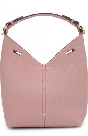 Сумка Mini Build a Bag Anya Hindmarch. Цвет: светло-розовый