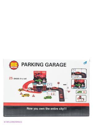 Игровой набор Паркинг DREAM MAKERS. Цвет: красный, серый