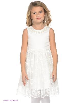 Платье LEMUR. Цвет: молочный