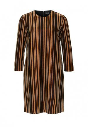 Платье Just Cavalli. Цвет: коричневый