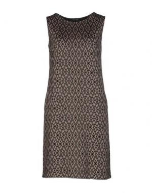 Короткое платье CHARLOTT. Цвет: хаки
