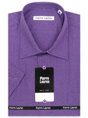 Рубашка Pierre Lauren. Цвет: темно-фиолетовый