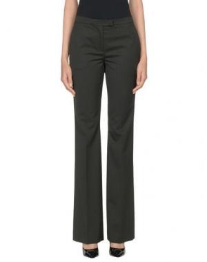 Повседневные брюки NORMALUISA. Цвет: стальной серый