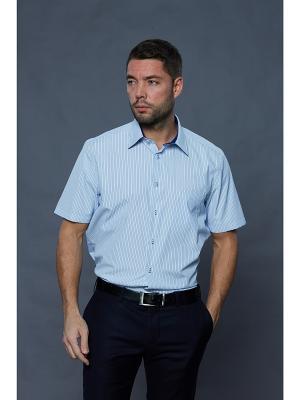 Рубашка John Jeniford. Цвет: синий, голубой