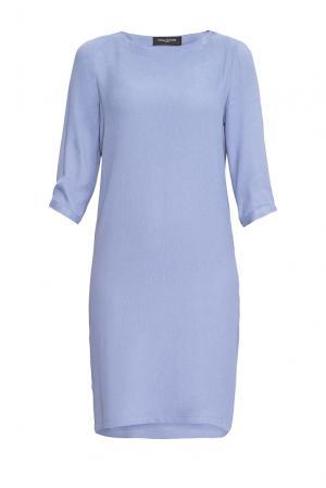 Платье из вискозы 163622 Cyrille Gassiline. Цвет: синий
