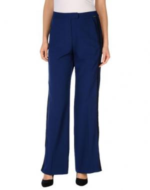 Повседневные брюки BABYLON. Цвет: синий