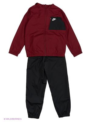 Спортивный костюм B NSW TRK SUIT WINGER W Nike. Цвет: красный