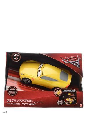 Круз - движущаяся модель со световыми и звуковыми эффектами Mattel. Цвет: желтый