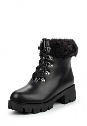 Ботинки Donna Moda. Цвет: черный