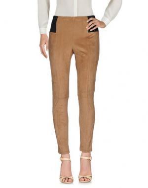 Повседневные брюки SWEET LOLA. Цвет: верблюжий
