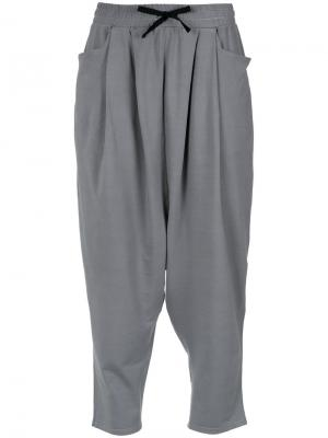 Drop-crotch trousers Uma | Raquel Davidowicz. Цвет: серый