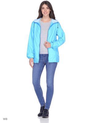 Ветровка Magwear. Цвет: голубой