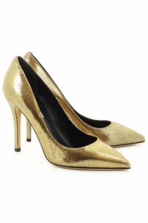 Туфли Semilla. Цвет: золотой