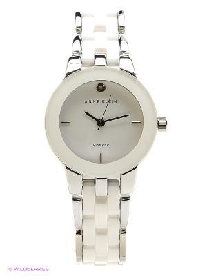 Часы ANNE KLEIN. Цвет: белый, серебристый